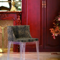 Replica_Kartell_and_Mademoiselle_and_Philippe_Stark_leisure_Chair