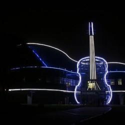 необычное музыкальное здание