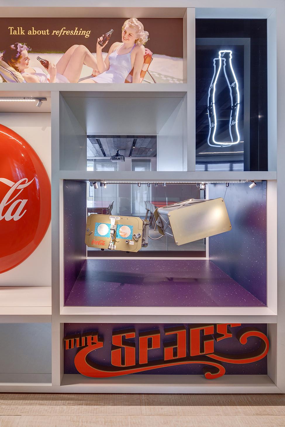 офис coca cola