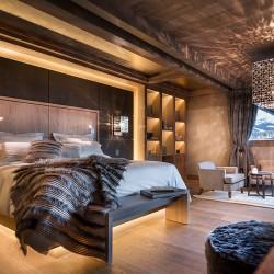 Шале Mont Blanc комната постояльца