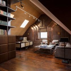 Вилла Belle Epoque - кабинет с библиотекой
