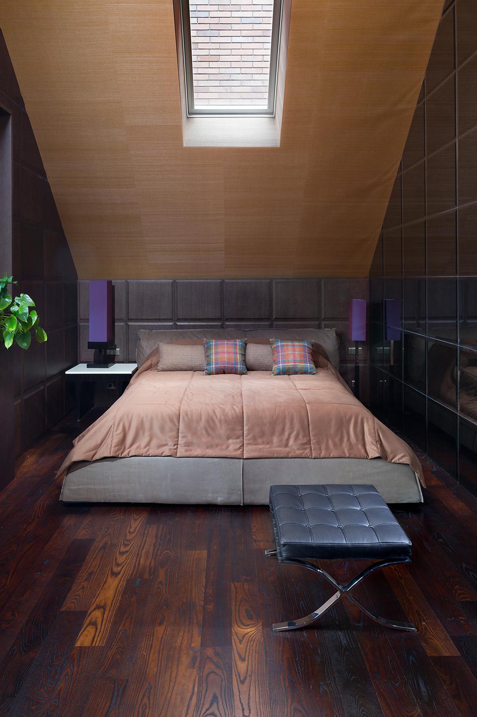 Вилла Belle Epoque - мужская спальня
