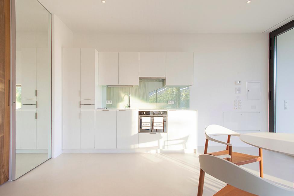 Зеркальные дома - кухня 1