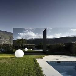 Зеркальные дома - зеркальная сторона