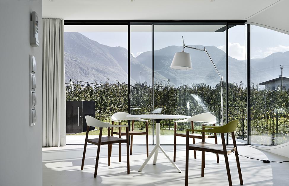 Зеркальные дома - столовая