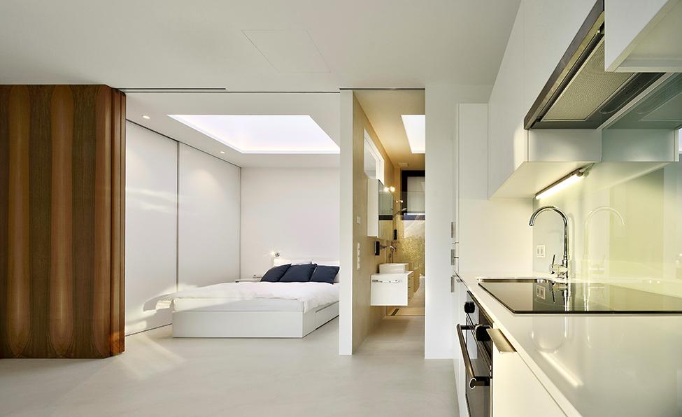 Зеркальные дома - спальня 1